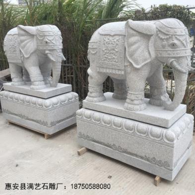 福建惠安石雕大象图文赏析